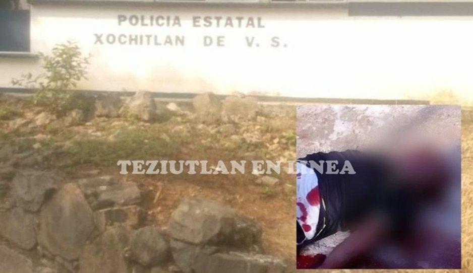 Asesinan a Policía Estatal de un balazo en el pecho en Xochitlán