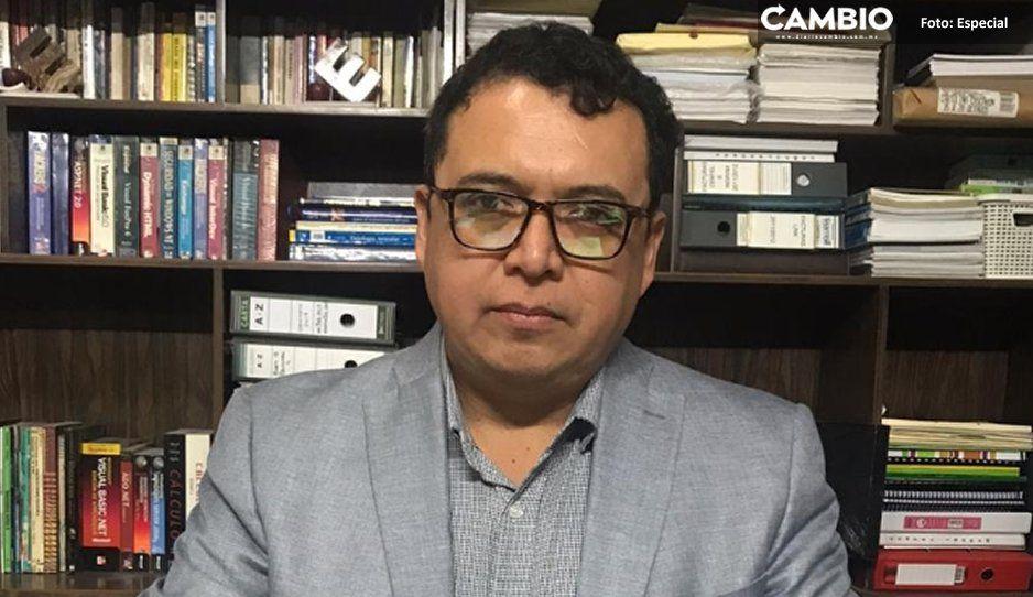 Andrés Caballero solicita al Congreso que lo  nombren como alcalde sustituto de Tehuacán