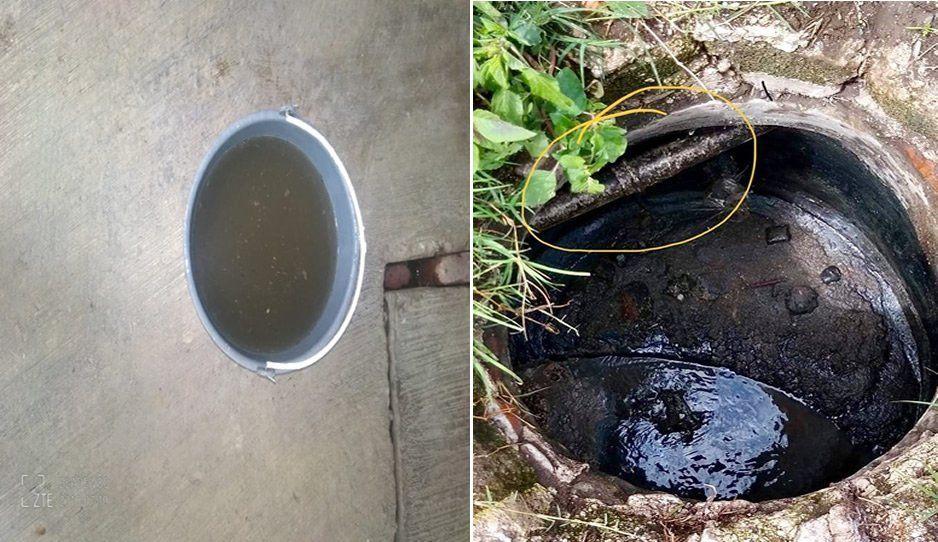 Vecinos de Xalmimilulco se quejan por agua sucia, sospechan de una tubería rota