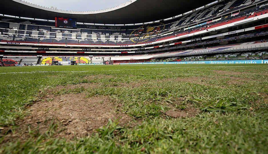 Otra vez cambiarán el pasto del Azteca para un partido de la NFL