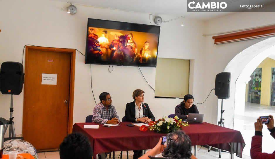 Cultura y Turismo de Texmelucan presenta  festival 'Celebraciones de la vida y la muerte'