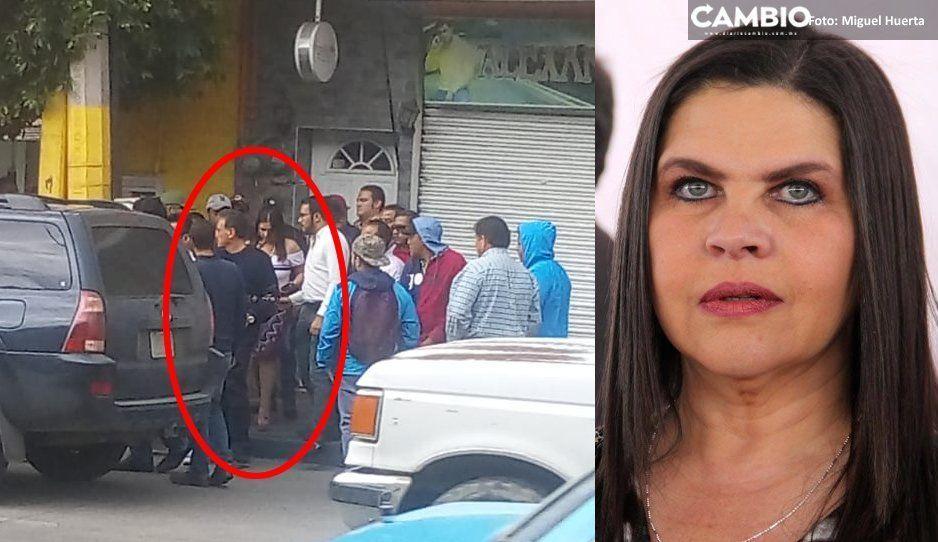 Texmeluquenses liberan a Norma Layón tras más de 5 horas retenida
