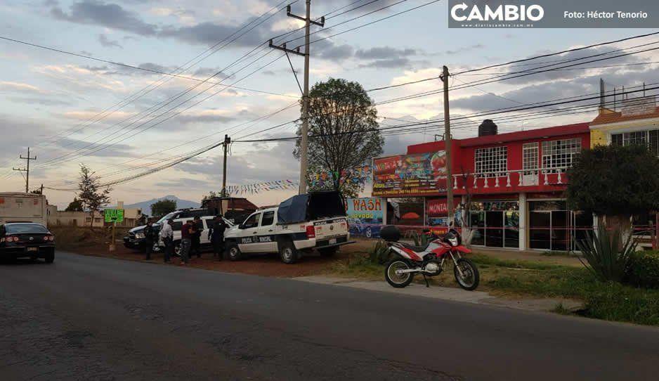 Un muerto y dos heridos por asaltos en El Verde y San Martín Texmelucan