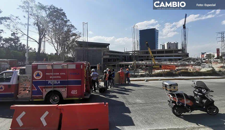 Soldador muere al desplomarse en una zanja en nueva terminal de Estrella Roja
