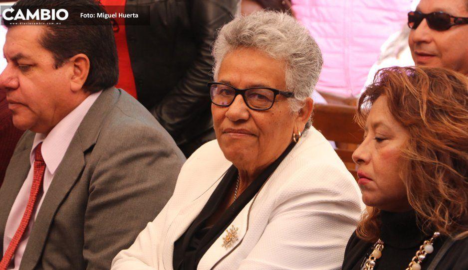Rosa Márquez presume cercanía con AMLO pero niega influencias para ser la interina