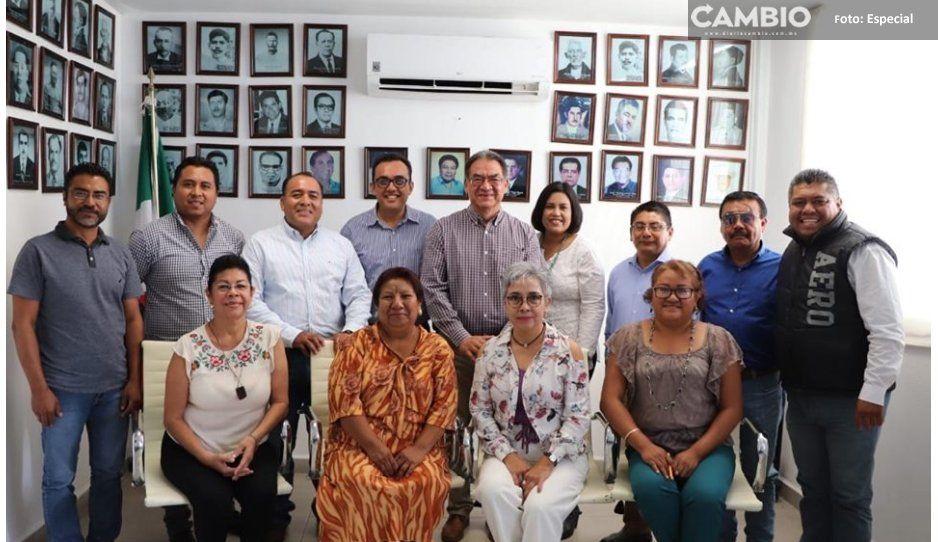 Melitón Lozano, edil de Izúcar, solicita licencia para fungir como secretario de educación