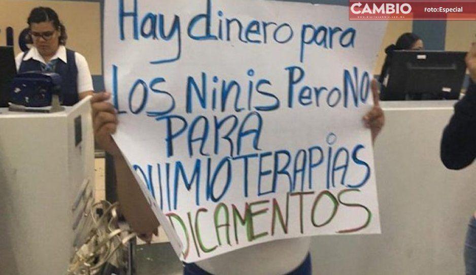 Puebla: sin medicamentos para quimioterapias de niños con cáncer