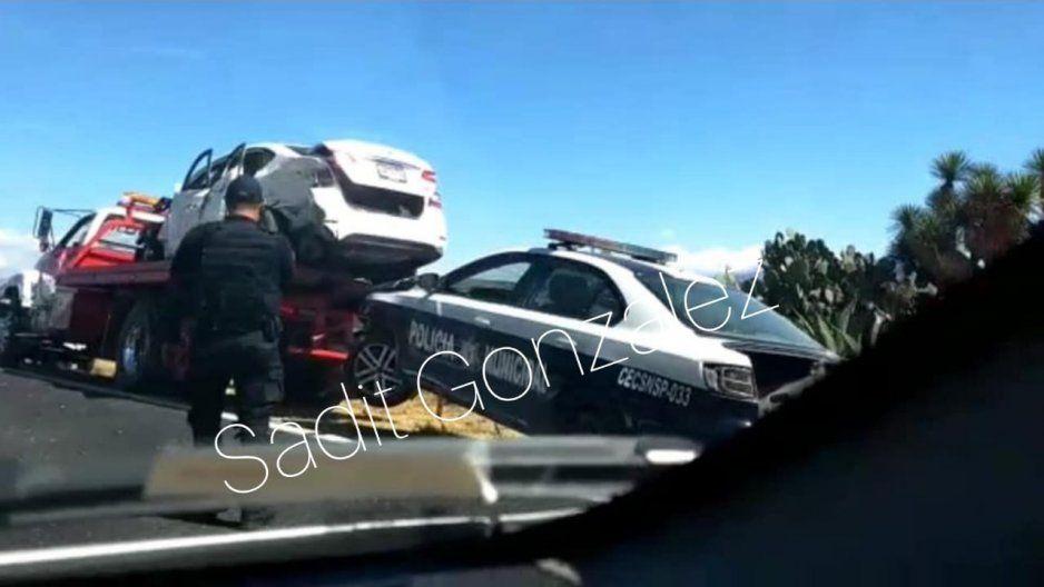Fuerte choque entre patrulla y camioneta deja tres lesionados en Oriental