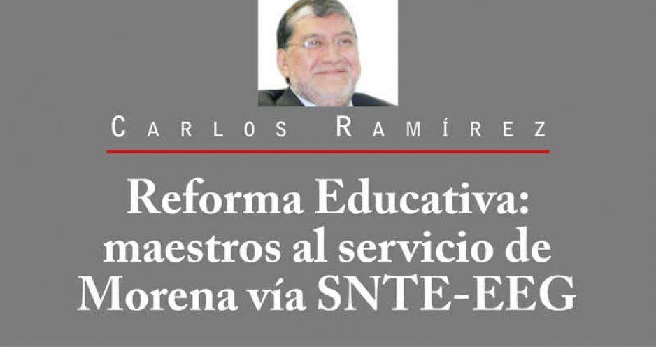 Reforma Educativa: maestros al servicio de Morena vía SNTE-EEG