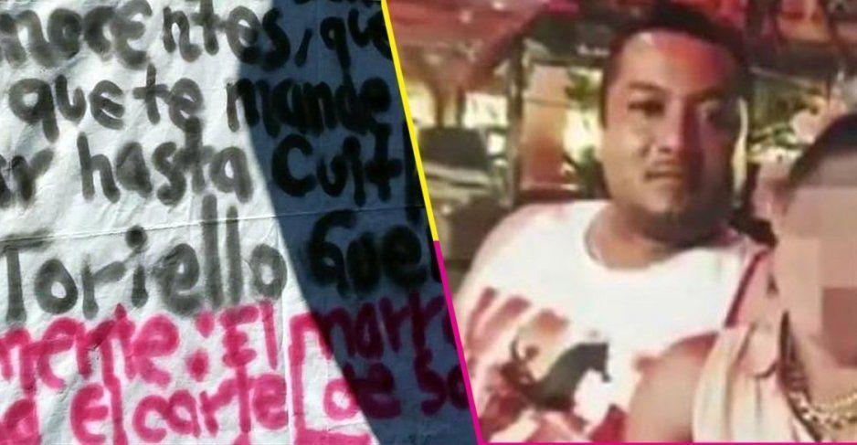 ¡Narcomantas contra AMLO en Guanajuato!