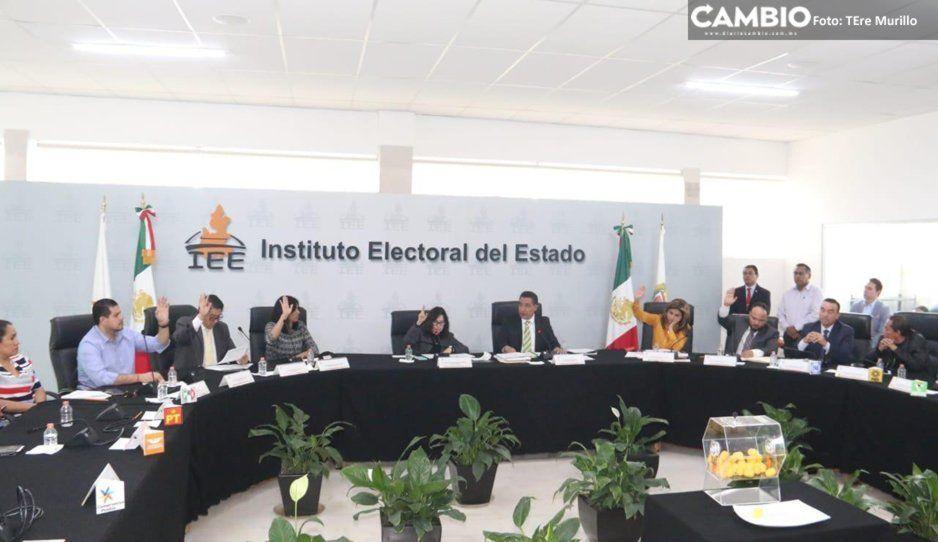IEE sancionan con más de millón y medio de pesos a PT, Morena y PVEM