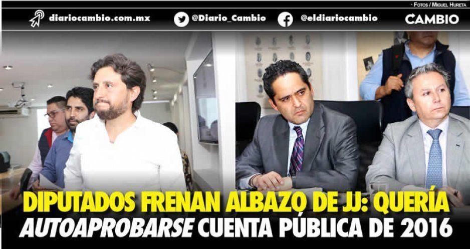 Frenan albazo del JJ para autoaprobarse su cuenta pública (VIDEO)