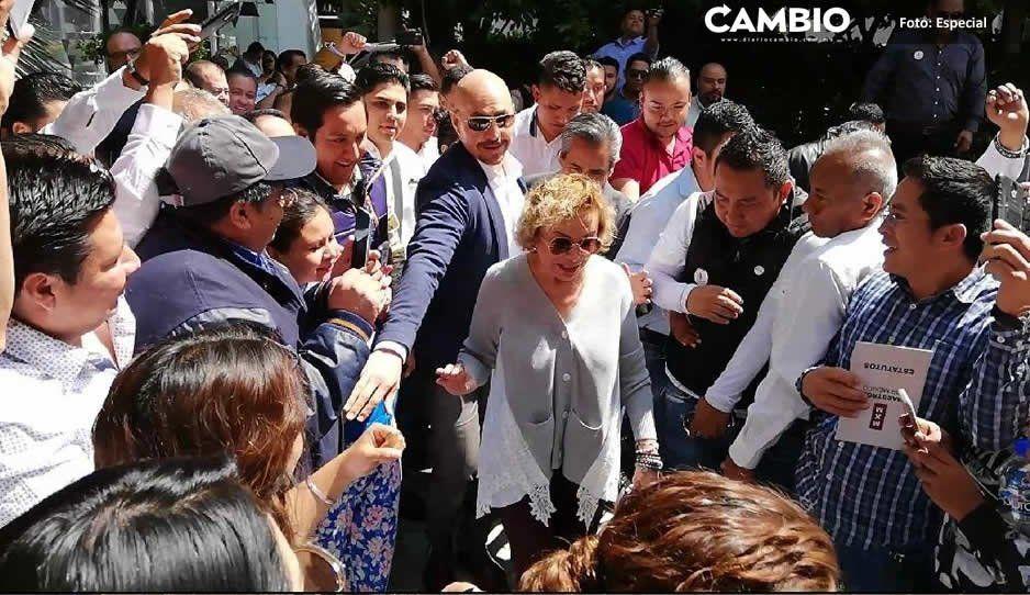 Elba Esther Gordillo va por dirigencia del SNTE