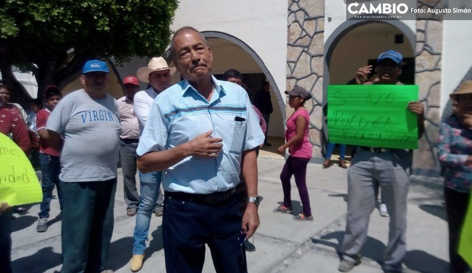 Dan ultimátum a edil de Tochtepec por  inseguridad; echa a secretario general