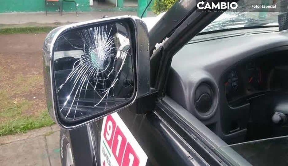 Policías municipales se enfrentan a comando armado en Tlalancaleca