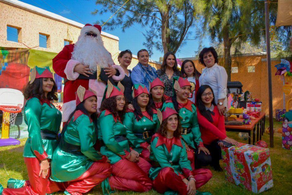 Norma Layón encabeza festejos navideños en guardería Blanca Meneses Montes en Texmelucan (VIDEO)