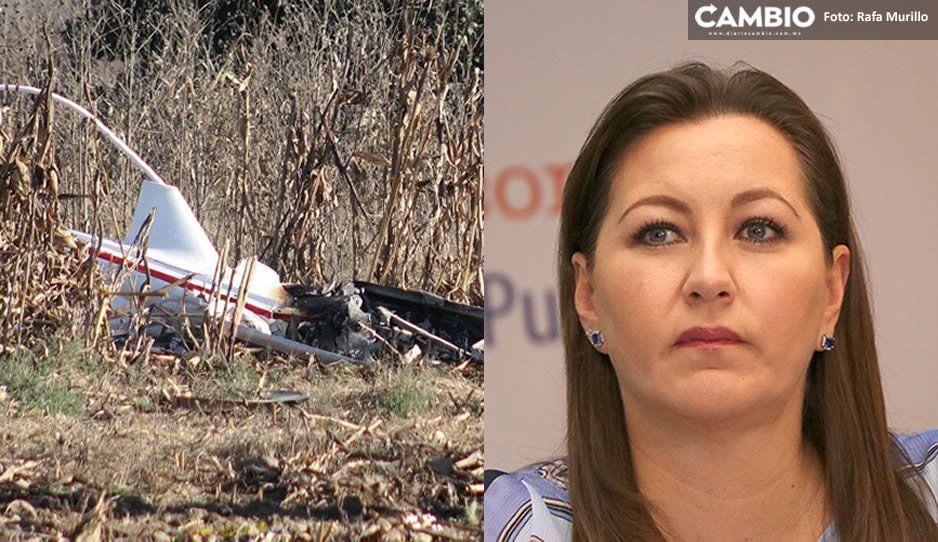 Ocho días antes del helicopterazo, Martha Erika les confesó a su mamá y hermano que temía por su vida