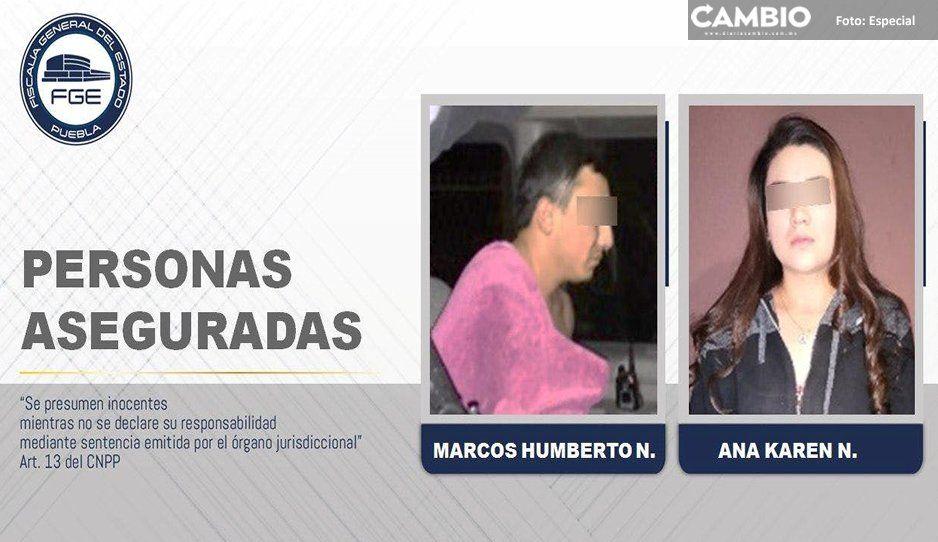 Fiscalía asegura a 2 miembros de Los Sinaloa en la colonia SNTE