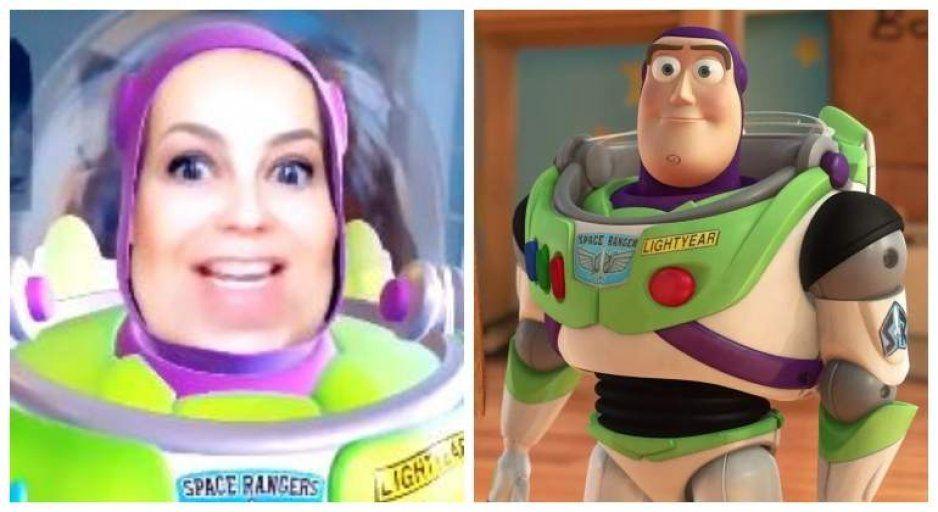 VIDEO: Thalía se convierte en el Buzz Lightyear de Toy Story 4