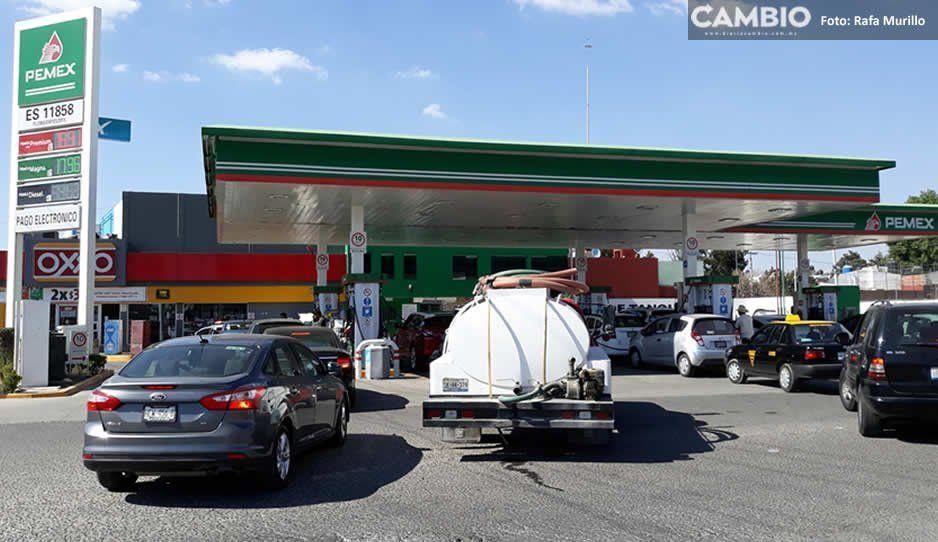 Canacintra y Canacar rechazan desabasto de gasolina en Puebla