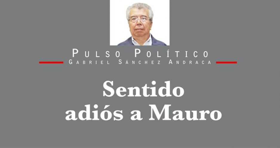Sentido adiós a Mauro