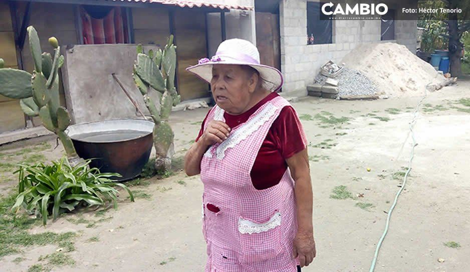 Casa de Margarita se derrumbó en 19-S, pero  fue censada con 'daño parcial' en Chiautzingo