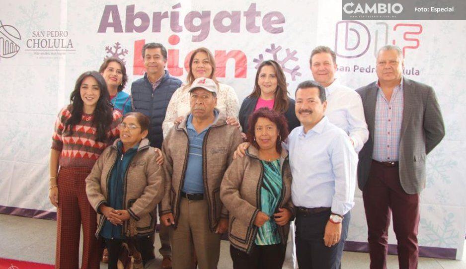Arranca caravana Abrígate Bien en San Pedro  para entregar más de 7 mil prendas invernales