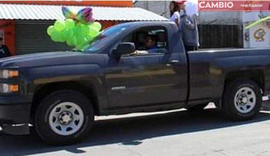 Le roban su camioneta a la presidenta del DIF Palamar de Bravo