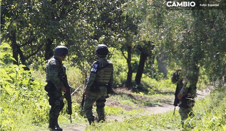 Llegan cuarenta elementos de la Guardia Nacional a Huejotzingo