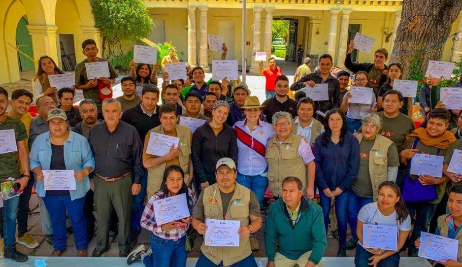 IAP certifica a 80 nuevos guías de turismo de San Martín Texmelucan