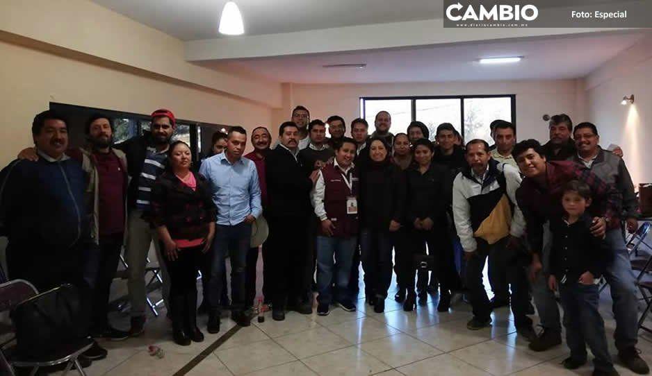 Morena celebra su primera conferencia colectiva en Tetela
