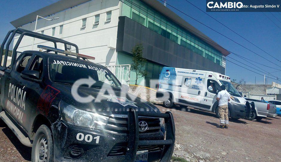 ¡Suertudote! Intentó robarse una moto, pero la Policía lo salva de linchamiento en Tecamachalco