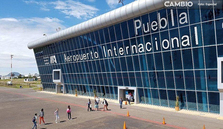 ¡Hasta aquí llegó! GN detiene a sujeto con arma de fuego en el Aeropuerto de Huejotzingo