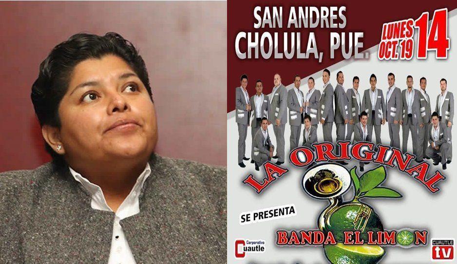 Karina contrata a la Banda El Limón para su primer informe; cobran más un millón por show