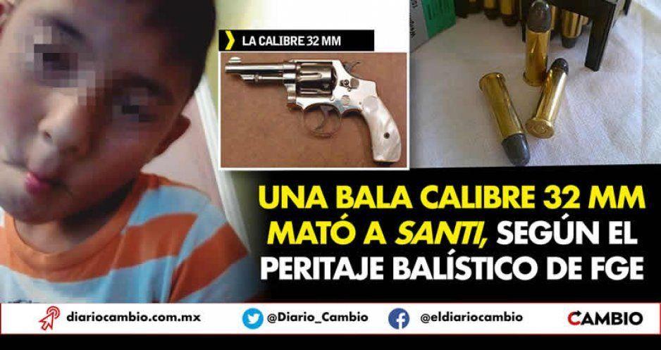 Una bala calibre 32 mm mató a Santi, según el peritaje balístico de FGE