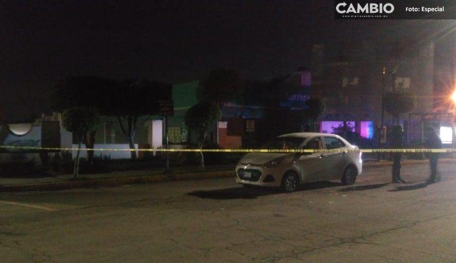 Chofer herido tras intento de robo de taxi ejecutivo en Hacienda Santa Clara
