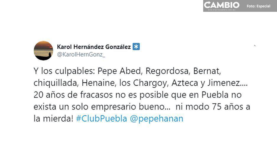 Venta del Club  Puebla divide a  la afición en redes