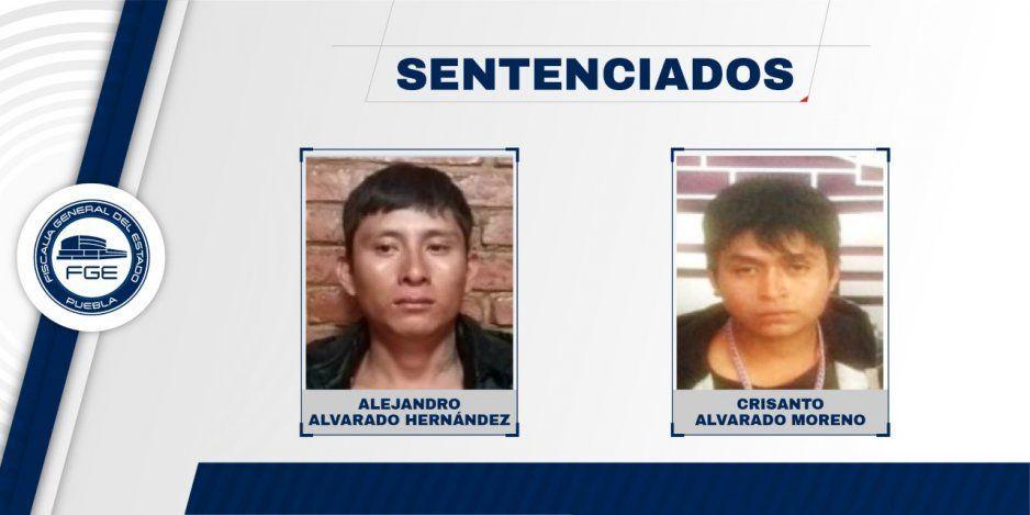 Sentencian con 21 años a dos hombres que asesinaron a un hombre en Tlaola