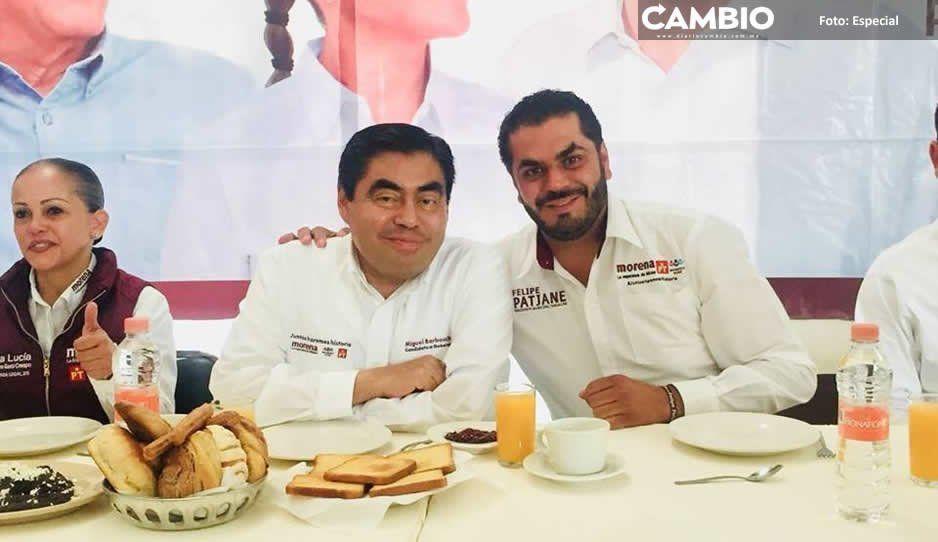 Edil Patjane no apoya ni a Barbosa ni a Armenta, pero organiza evento a ambos