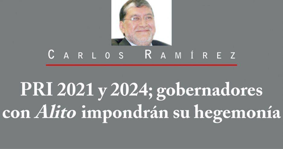 PRI 2021 y 2024; gobernadores con Alito impondrán su hegemonía