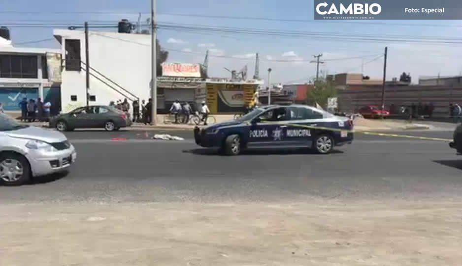 Abuela y su nieta mueren arrolladas en San Pedro Cholula