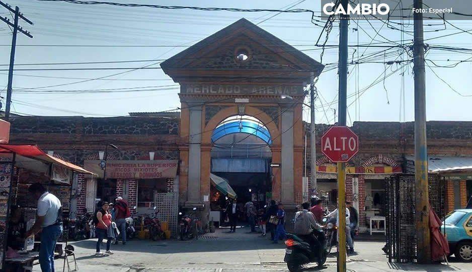 Continúa en revisión el proyecto del mercado  Domingo Arenas en San Martín Texmelucan