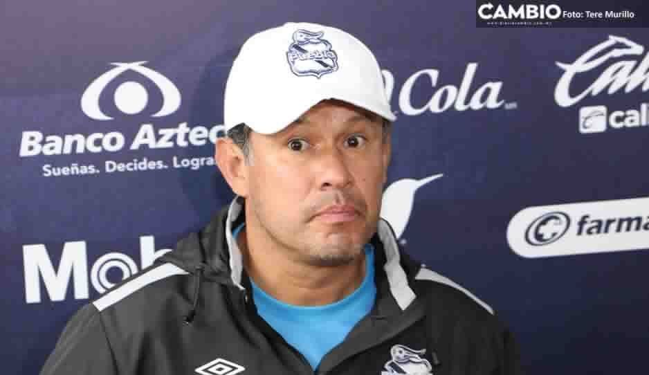 Reynoso acepta que al Puebla le cuesta concentrarse los primeros minutos del partido