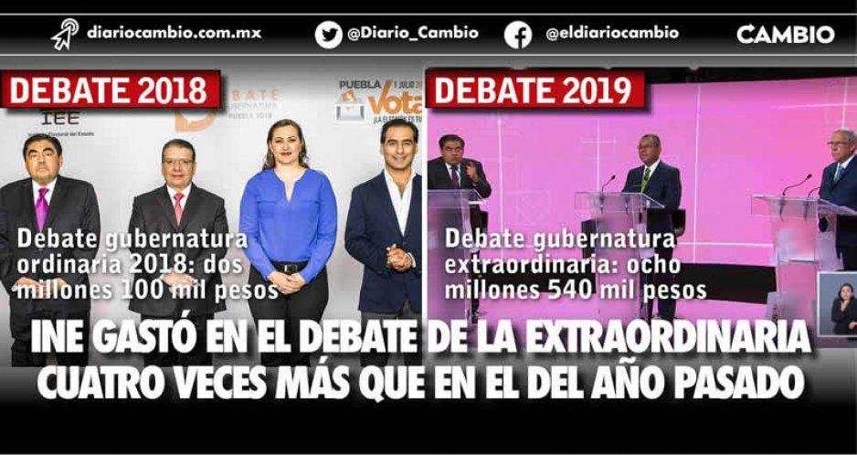 INE fracasó en la elección extraordinaria y derrochó recursos en el debate: pagó 8.6 millones de pesos