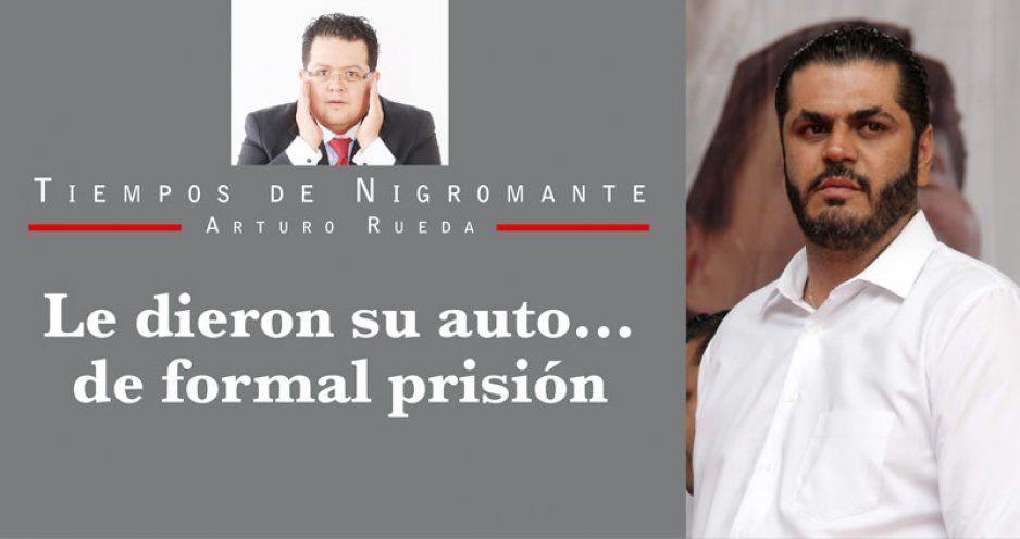 Le dieron su auto… de formal prisión
