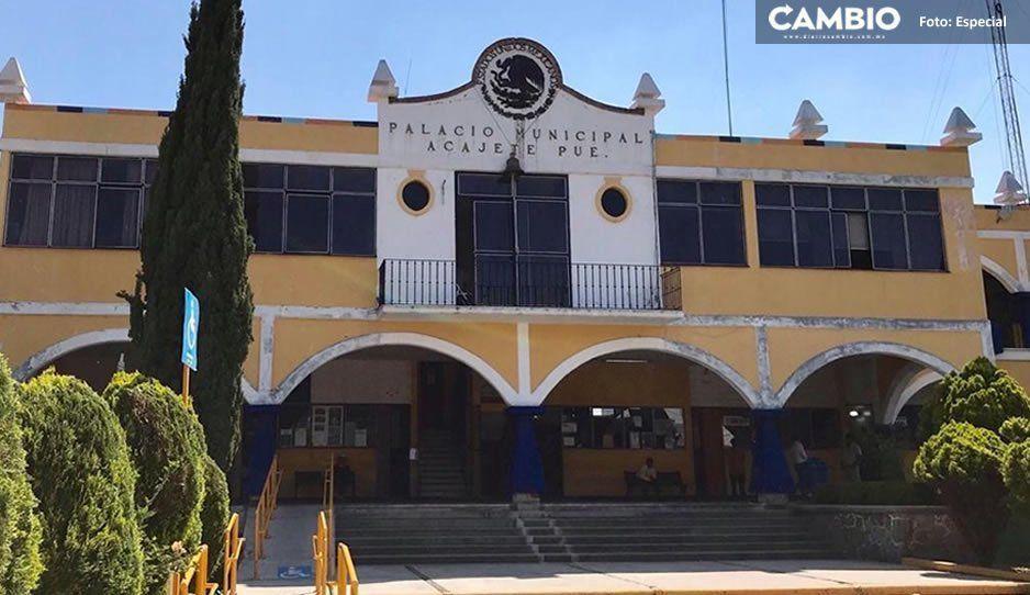 Policías de Acajete acusan al Ayuntamiento falta de pago desde hace dos meses