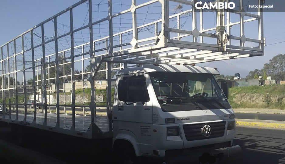 Policía Municipal de San Martín Texmelucan recupera dos vehículos con reporte de robo