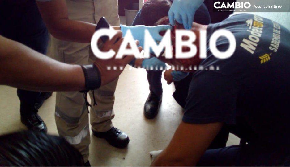 Fueron cinco los policías agredidos a machetazos en Coronango