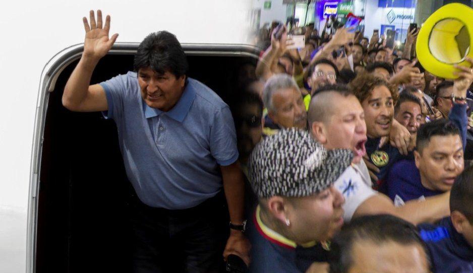 Hacen viral el recibimiento de Memo Ochoa en el Aeropuerto, pensado que era a Evo Morales