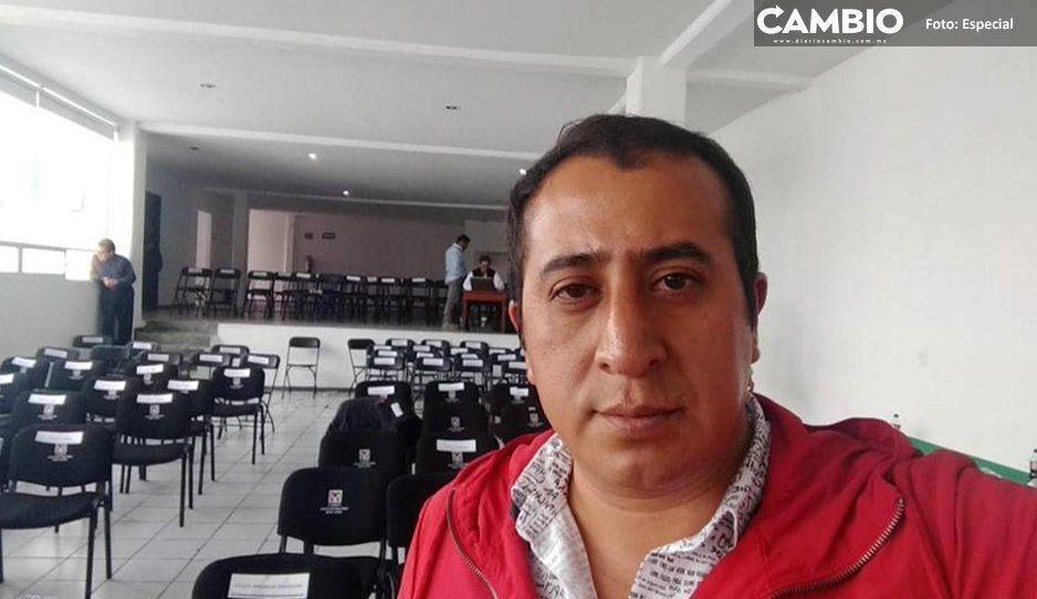 Reclaman obras y mayor seguridad a  Jorge Domínguez, edil de Xiutetelco